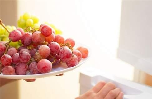 mẹo bảo quản, nho tươi, nội trợ, thực phẩm, tủ lạnh, hấp thụ mùi, tươi lâu