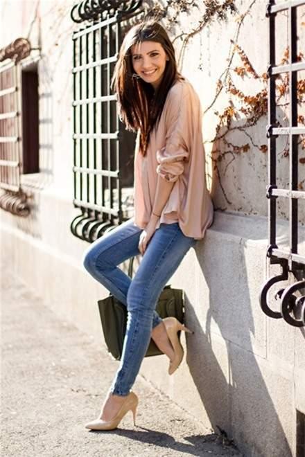 thời trang, phong cách, quần jeams, mix đồ, công sở