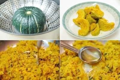 món ngon, món ngon dễ làm, bánh bí đỏ dừa, sữa béo, mật ngọt, cơm dừa, hương thơm, hấp dẫn