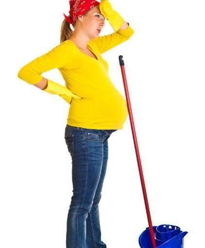 việc nhà, nội trợ, bà bầu, lưu ý,mang thai,sức khỏe,thai nhi