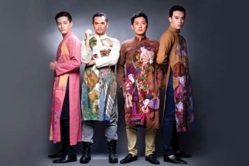 thời trang, phong cách, áo dài, áo dài cho đàn ông