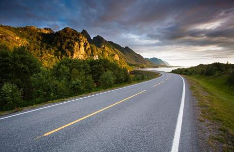 Con đường trên quần đảo thiên đường Lofoten, Na Uy