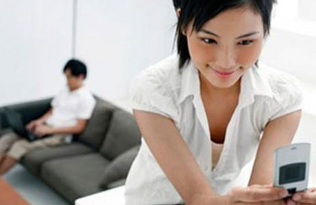 vợ nhắn tin, với người khác, không chung thủy, cãi nhau, không xác định lâu dài