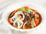 nước cốt dừa, bo kho, bo kho nuoc dua, món kho dễ làm, cua so tinh yeu