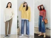 xu hướng thời trang 2018, thời trang, xu hướng quần 2018, hot trend, quần ống rộng, quần jeans, cua so tinh yeu