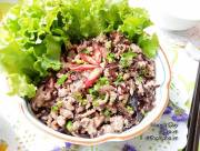 thịt băm xào nấm, món ngon, thịt băm, món xào, cua so tinh yeu