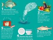 tác dụng, nước vo gạo, hạn chế độc tố, khử mùi tanh, nước rửa bát, khử mặn, cua so tinh yeu
