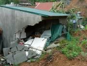 sập nhà, mưa lớn, bé gái thiệt mạng, tường nhà đè trúng người, tử vong tại chỗ, sạt lở, Thanh Hoá, cua so tinh yeu