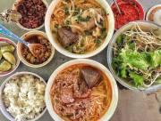 bún cơm nguội, bún bò cơm nguội, cơm nguội, bún bò, Huế, Bún bò huế, ăn cả thế giới, ăn gì ở Huế, ăn gì khi đến Huế, cua so tinh yeu