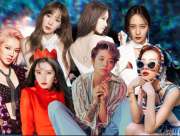 Yoona, Taeyeon, Hyoyeon, Irene, Amber, SuperM, cua so tinh yeu