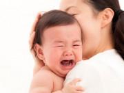 Cần làm gì khi trẻ sơ sinh khóc dạ đề?, trẻ sơ sinh, khóc dạ đề, cua so tinh yeu