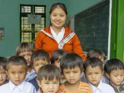 việc tốt, dạy trẻ học chữ, Nhà giáo Việt Nam, cua so tinh yeu