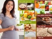 Dinh dưỡng bà bầu, chế độ ăn khi mang thai, giai đoạn, thực phẩm bà bầu hạn chế, thực phẩm bà bầu nên dùng