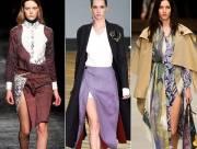 xu hướng thời trang, xu hướng thu đông, họa tiết, họa tiết hoa, ,váy xẻ cao, xu hướng thời trang thu đông 2014