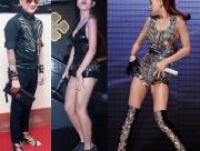 Giày độc, thời trang, phụ kiện của sao, sao việt, đàm vĩnh hưng, hồ ngọc hà, hồng nhung, lý nhã kỳ, thảo trang