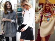 Áo len, mix đồ, trang phục, thời trang thu đông 2014, xu hướng thời trang