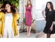 phong cách, thời trang, váy bầu, mang thai, đâm bầu, đầm xuông