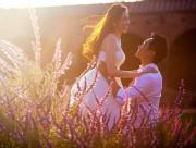 Trúc diễm, ảnh cưới, lãng mạn, kết hôn, chuyện tình cảm của sao