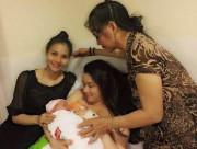 Trang Nhung, Trang Nhung sinh con gái, Trang Nhung làm mẹ, diễn viên, người mẫu, làm mẹ, sinh con
