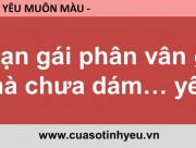 Bạn gái phân vân gì mà chưa dám yêu - CGTL Đinh Đoàn
