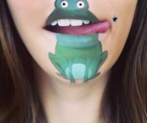 Hình ảnh, hài hước, họa sĩ, tranh vẽ, Laura Jenkinson, Anh quốc, vẽ lên môi, nhân vật hoạt hình, độc đáo