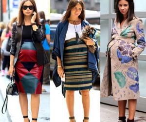 Thời trang bà bầu, thời trang của sao, sao mang bầu, váy bầu