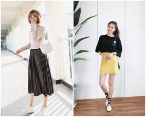 chân váy, các kiểu chân váy đẹp, thời trang, thời trang công sở, đồ công sở, cua so tinh yeu