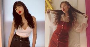 thời trang, thần tượng , nữ ca sĩ HyunA, sang chảnh với váy hoa, Phong cách thời trang độc đáo, cua so tinh yeu