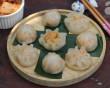 bánh bao, làm bánh bao, Bánh bao nhân kim chi, Món ăn sáng, Món ăn Hàn Quốc, cua so tinh yeu