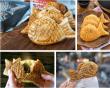 Bánh tráng nướng, takoyaki, bánh trứng gà non, ăn cả thế giới, bánh nướng, taiyaki, cua so tinh yeu