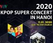 Dàn sao đình đám Hàn Quốc, đổ bộ, 2020 K-Pop Super Concert, cua so tinh yeu