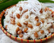 Xôi lạc, dừa, đồ xôi, mẹo nấu xôi, nước cốt dừa