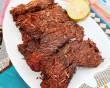 bò khô, nồi chiên không dầu, thịt bò, ngũ vị, ăn vặt