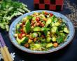 dưa chuột, món ngon, đậu phộng, gia vị, rau thơm