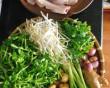 cháo cá, cá lóc, đặc sản miền tây, rau đắng