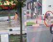 Người phụ nữ khỏa thân hoàn toàn, ngông nghênh đi bộ trên phố, người xung quanh choáng nặng