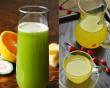 Thực phẩm giải nhiệt, nước ép trái cây, nước ép dứa, nước ép bí đao, nước ép rau má, món ngon mùa hè, món ngon giải nhiệt ngày hè