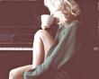 Phụ nữ , Cà phê , Một mình, Hạnh phúc