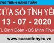 Nghe lại Chương trình Cửa Sổ Tình Yêu Mới Nhất ngày 12-07-2020