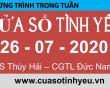 Nghe lại Chương trình Cửa Sổ Tình Yêu mới nhất ngày 26-07-2020 - Cửa Sổ Tình Yêu 2020 -Tư Vấn Tâm Lý