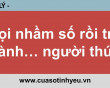Gọi nhầm số rồi trở thành người thứ 3 - CGTL Nguyễn Thị Mùi