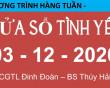 Nghe lại chương trình Cửa Sổ Tình Yêu hôm nay ngày 03-12-2020