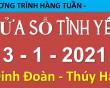 Nghe chương trình Cửa Sổ Tình Yêu mới nhất ngày 3-1-2021