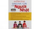 Phương pháp giáo dục con cùa người nhật, sách hay, dạy con, giáo dục trẻ, phương pháp giáo dục trẻ, môi trường học tập vui vẻ, học ngữ văn, dễ dàng