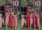 """Tóc Tiên mở tiệc, """"All pink"""" cùng hội hot girl, cửa sổ tình yêu."""