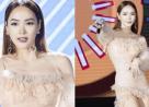 showbiz Việt, sao Việt, minh hằng, sao gặp sự cố trang phục, sao lộ hàng, cua so tinh yeu