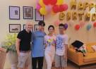 nữ diễn viên thúy hà, gia đình sao, sao Việt, Về Nhà Đi Con, cua so tinh yeu