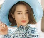 NTK Bảo Bảo, Nhã Phương, áo dài gạch bông, cua so tinh yeu