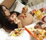 mang thai, nghén, thể trạng bà bầu, cua so tinh yeu