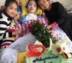 tai nạn giao thông, tổ chức sinh nhật, sinh nhật đặc biệt, nữ sinh bị tai nạn giao thông, tin nóng xã hội, cua so tinh yeu